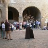 2010, San Gimignano, Town Hall courtyard, UNESCO Ceremony