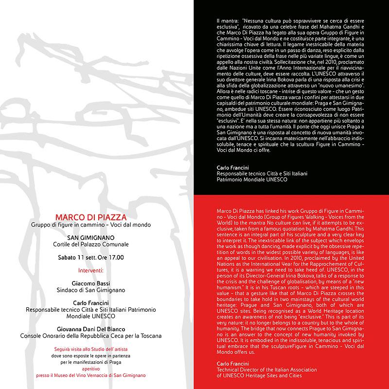 Invitation San Gimignano 2-2010