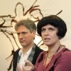 Marco Di Piazza and translator Enrica: Exhibition: United Nations in Bonn – 2010