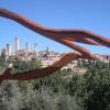 San Gimignano, 2010, continua la lavorazione delle opere
