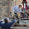 The story of a sculpture: final transport of the sculpture in San Gimignano