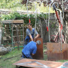 The story of a sculpture: preparing the sculpture at Marco Di Piazza's atelier