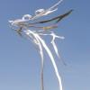 Coppia in primavera - steel & corten | 2014 | H 205 cm (4)